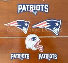 Iron On Sew On Transfer Applique New England Patriots Handmade Cotton Patches $5.99 USD on eBay
