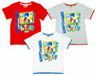 Boys Sonic the Hedgehog Always Running T-Shirt Cotton Top 3 to 8 Years