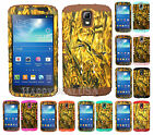 KoolKase Hybrid Cover Case for Samsung Galaxy S4 Active - Camo Mossy Duck