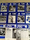 TOTTENHAM HOTSPUR SUPPORTERS CLUB MAGAZINE LILYWHITE / TEAM /THE SPUR YOU CHOOSE