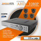 AHD 4 CHANNEL DVR 4x 2MP CCTV CAMERA KIT SURVEILLANCE SYSTEM OUTDOOR NIGHTVISION