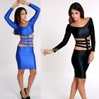Sexy Women Clubwear Cocktail Party Ladies Clothes Bandage Bodycon Dress 2 Colors