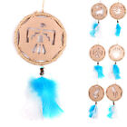 Beautiful Ornament Natural Dream Catcher Handmade Net With Feather Decoration
