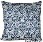 Liberty of London William Morris Lodden Blue Cushion Cover