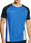 Kooga Poly Panel Short Sleeve Mens Rugby Top - Blue