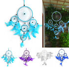 Fashion Five Circles Shape Dream Catcher Feathers Wall/Car Hanging Decoration