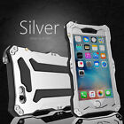 GUNDAM II SHOCK/WATER PROOF ALU METAL GLASS CASE COVER FOR IPHONE 5 5S 6 6S 6+