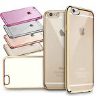 GENUINE ShockProof Silicone Bumper Clear Slim Case Cover For IPHONE 5 6 6 PLUS