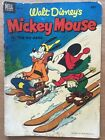 Walt Didney's Mickey Mouse In The Icy Hand Dell Comic 1953 Goofy