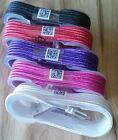 5ft-USB Charging Cables-Android Smart Phones*5 Colors*Micro USB Wire/Metal Plugs