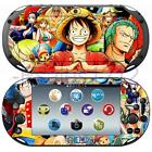 Anime One Piece Luffy Vinyl Skin Decals Stickers for Sony PS Vita 2000 PCH-2000