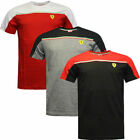 Puma SF Scuderia Ferrari Mens Short Sleeve Cotton Tee T-shirts 761631 D114