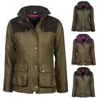 Ladies Bramham Short Tweed Jacket Coat - British Made Rydale