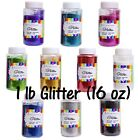 Craft Glitter 14 DIFFERENT COLORS 16oz. (1lb)