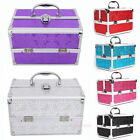New Extra Large Space Storage Beauty Box Make up Jewelry Cosmetic Vanity Case UK
