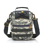 Fashion Shoulder Bags Multi-purpose Camo Nylon Messenger Bag Tactical MOLLE
