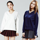 """2NEFIT"" Korea Women's Clothes Fashion T-001 Long Sleeve Base T Shirts Top"