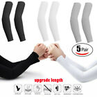 5 pairs Cooling Arm Sleeves Cover UV Sun Protection Basketball Sport (10 pieces)