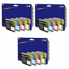 Choice of 12 Compatible Printer Ink Cartridges for Brother LC980 / LC1100 Range