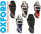 Oxford RP-2 Armoured Leather Summer Motorcycle Sports Track Racing Bike Gloves