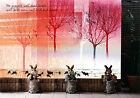 3D Red Pine 939 Wall Murals Wallpaper Decal Decor Home Kids Nursery Mural