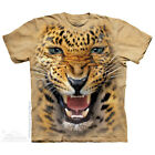 The Mountain ANGRY LEOPARD Adult Men T-Shirt S-2XL Short Sleeve