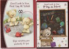 Good Luck on Your 1st Day At School Greeting Card -  Various designs