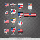 American - Made In America/USA  Bicycle Frame Tubing Decal - Sticker - Transfer