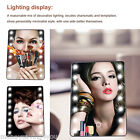 Ovonni LED Portable 16 LEDs Cosmetic Touch Screen Makeup Mirror