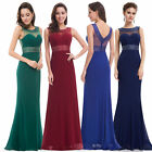 Ever Pretty Women's Navy Blue Bridesmaid Formal Evening Gown Prom Dresses 08734