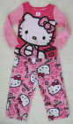 New Hello Kitty Girls Pink Fleece Pajamas