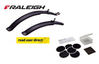 "Raleigh Clip On Mountain Bike Mudguards 24"" & 26"" Wheels - Free Courier"