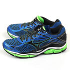 Mizuno Wave Enigma 6 Blue/Black/Green Smooth Ride Running Shoes J1GC161109