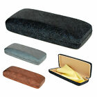 SA106 Womens Glitter Bling Rectangular Clam Shell Eyewear Case