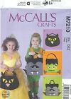 McCall's 7210 Treat Bags   Sewing Pattern