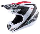 Troy Lee Designs 2017 SE4 Carbon MIPS Helmet Twilight White Adult All Sizes