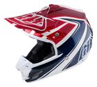 Troy Lee Designs 2017 SE3 Helmet Neptune White Adult All Sizes