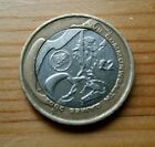 Rare Uk £2 Two Pound Coin Commonwealth Games Wales/welsh  Flag 2002