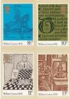 GB - Mint PHQ Cards - 1976 - William Caxton