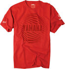 Factory Effex Licensed Yamaha Orb T-Shirt Red Mens All Sizes