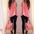Women Fashion Summer Loose Sexy Vest Tee Shirt Tops Casual Blouse Ladies Top