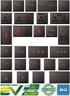 BG Nexus Metal Switches & Sockets - Black Nickel - Complete Range (Multi Option)