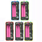 For Apple iPhone 5 5s Full Housing Middle Frame Back Battery Cover Back Door New