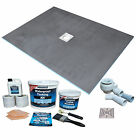 Wet Room Wetroom Shower Tray Kit All sizes available Including Linear Kits (S/A)