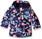 Carter's Infant Girls Printed Jersey Lined Rain Slicker Size 12M 18M 24M