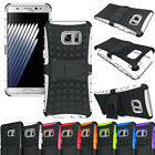 Schockproof Rugged Armor Hybrid Kickstand Case For Samsung Galaxy Note 3 4 5 7