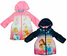 Girls Disney Princess Cinderella Butterflies Hooded Coat Anorak 3 to 6 Years
