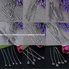 Wholesale Silver Tone Copper T/Star/Flower Ball Head Adjustable Pin Finding DIY