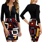 Women Bandage Bodycon Office Evening Cocktail Party Prom Pencil Mini Dress