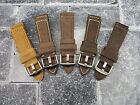 New 24mm Genuine Leather Strap Brown Tang Assolutamente Watch Band BREITLING 24